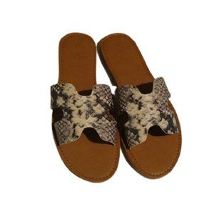 Universal Thread Snake Jenny Slider Sandals